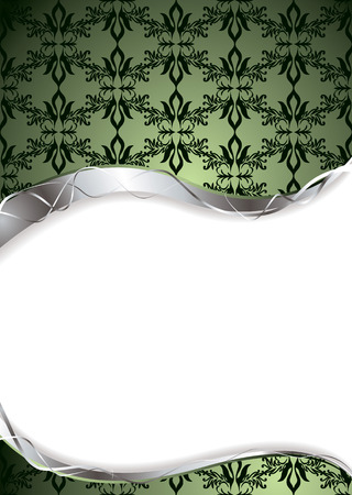 jade: Abstract green background with room to add your own copy