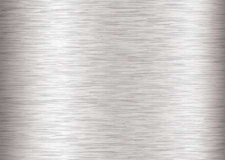 aluminio: Plata de fondo con el metal de acero de grano y efecto del accidente cerebrovascular