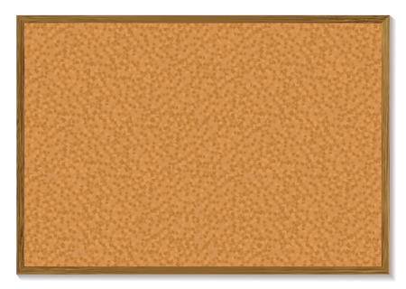 memory board: Cork bordo pines con un marco de madera y una sombra