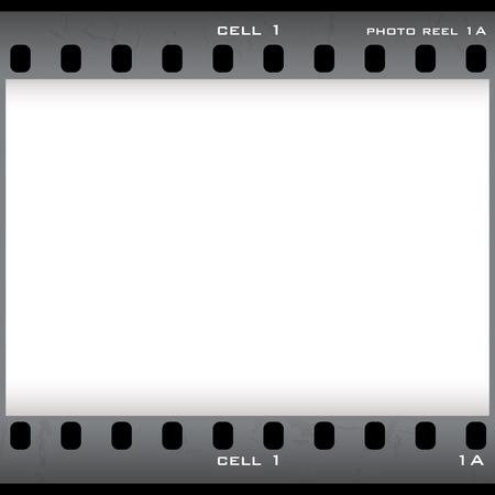 sparare: Pellicole negative a cella singola con copia e titolare copyspace