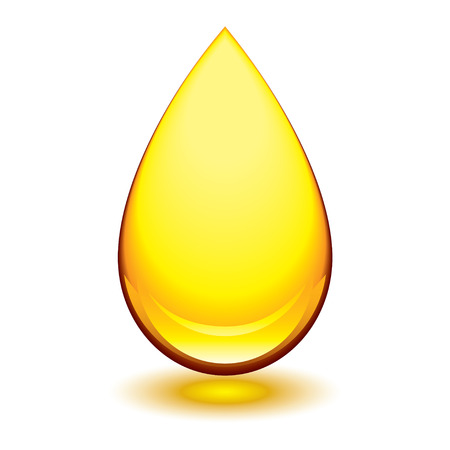lubricant: Golden amber icon with tear droplet shape and shadow glow