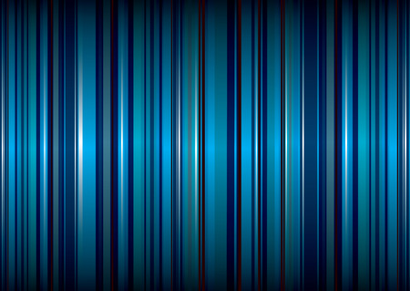 bright blue stripe abstract background with ribbon effect Stock Vector - 5192283
