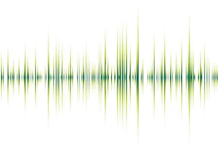 geluid: Kort muzikaal geïnspireerd grafische achtergrond afbeelding met pieken