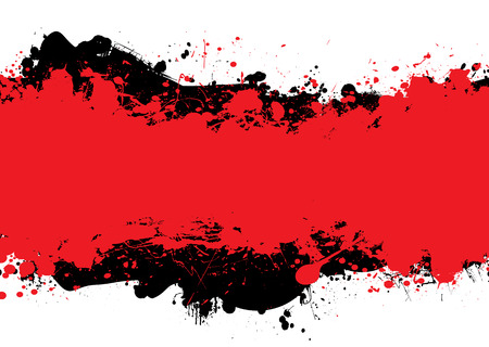 Red and black abstract background with room to add your own copy Vector