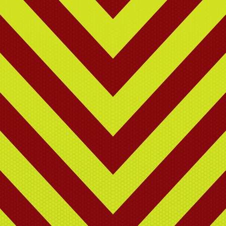 Red and yellow abstract ambulance striped background in arrow shape Stock Vector - 5310058