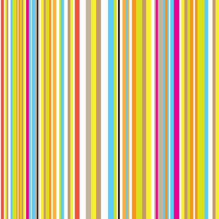 rainbow stripe: candy inspired striped background with retro effect with rainbow colours Illustration