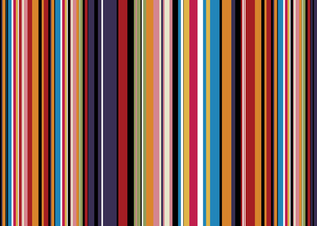 Brightly coloured abstract background with candy coloured stripes Vector
