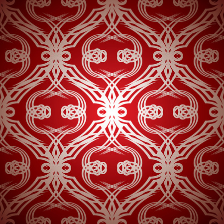 silver background: Red and silver seamless repeating abstract background pattern