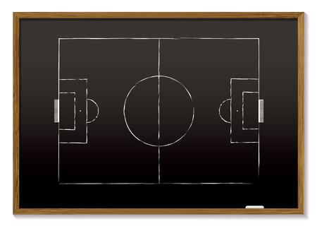 dessin craie: carte noire avec un bloc de bois et la craie de dessin de hauteur