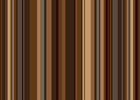 Retro style vertical stripped background in shades of brown Vector