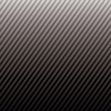 black carbon weave with repeat pattern ideal as a wallpaper or background Vector
