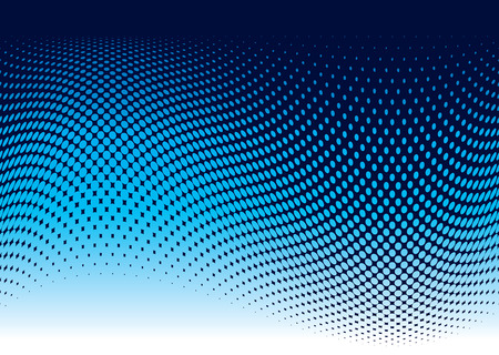 from halves: Abstract ocean wave background in blue with copy space
