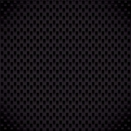 Modern carbon fiber weave background with seamless repeating pattern
