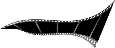 twist: a piece of drawn film with a twist in it