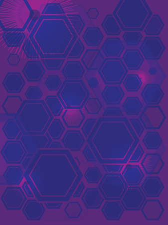 hexagone: AN abstract background with the use of purple hexagone