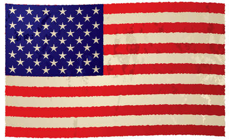 ripple effect: Usa grunge flag with ripple effect ideal background image