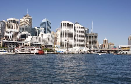 Sydney Skyline - Darling Harbour