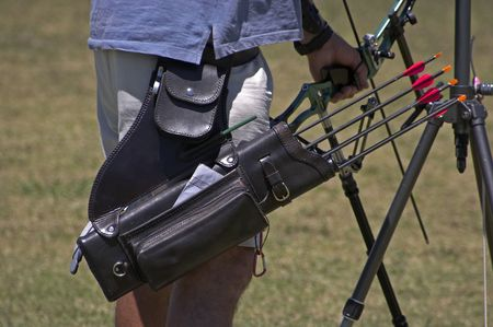 quiver: Archers quiver with arrows