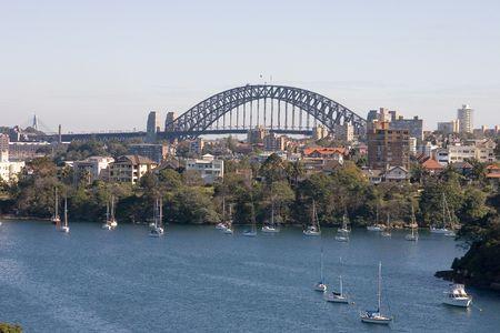 nsw: Sydney Harbour Bridge, NSW, Australia