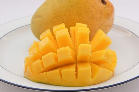 cubed: Sliced and Cubed Mango