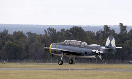 vendicatore: Un Grumman TBM-3R Avenger Archivio Fotografico
