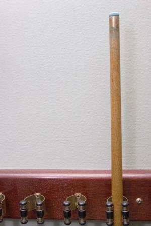cue stick: Billiard cue stick