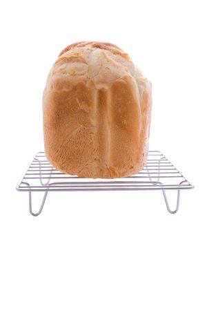 browned: Freshly baked bread