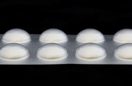blister: Tabletten in een blister verpakking