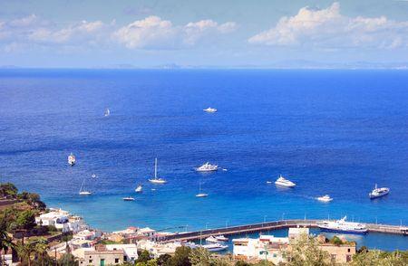 inlet bay: Italy Capri island #2