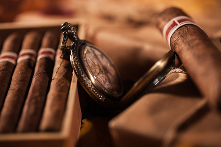 Time to enjoy! Two parcels with top quality Cuban cigars - a great gift from best friend photo