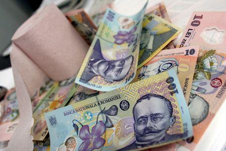 leu: Nuova rumeno denaro