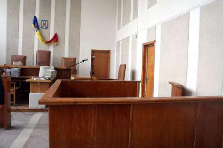 jurado: Sala de tribunal vac�a