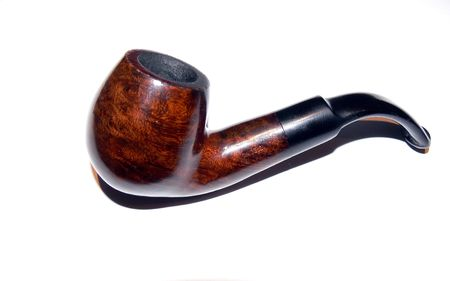 Pipe in the white background