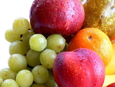Fruits assorti Stock Photo