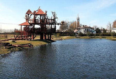 mistic: Playground at Lukshiai Park, Lithuania, LT