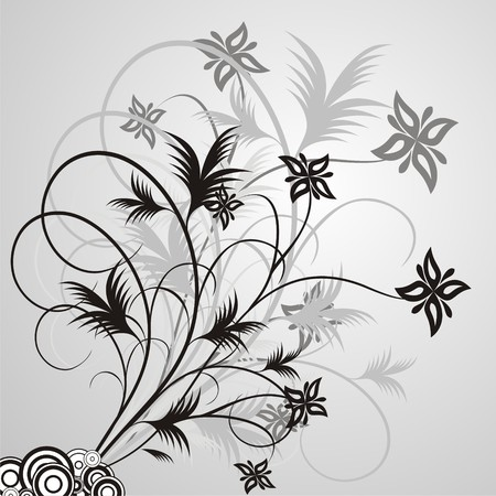 ellements: Floral design ellements Illustration