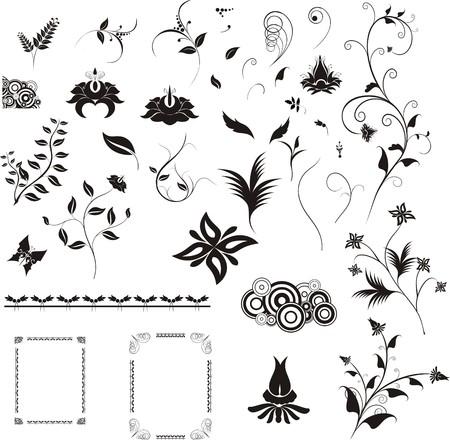 illustrated design details for designers Illustration