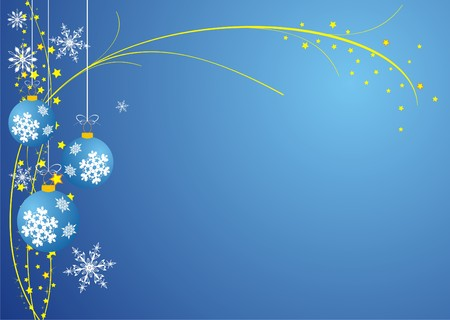 seasonable: Abstract Christmas background vector Illustration