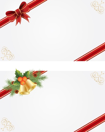 Christmas frames for creating greeting cards Stock Vector - 11674146