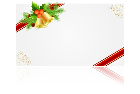 Christmas frames for creating greeting cards Stock Vector - 11674147