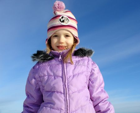 scamper:                                winter girl