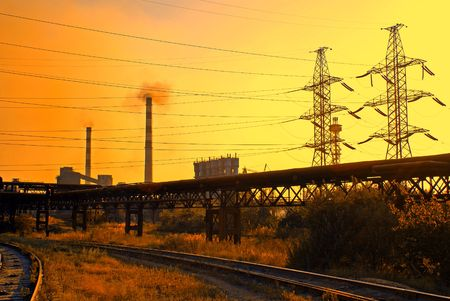 metallurgical: Iron and steel metallurgical plant