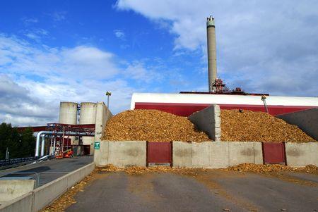 anaerobic: bio fuel power plant