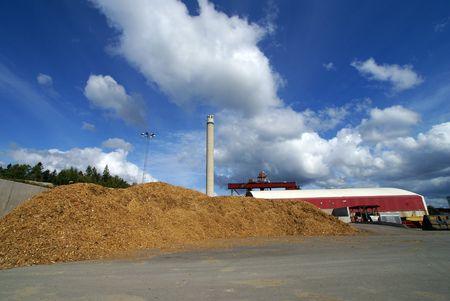 anaerobic:  bio fuel power plant                   Stock Photo