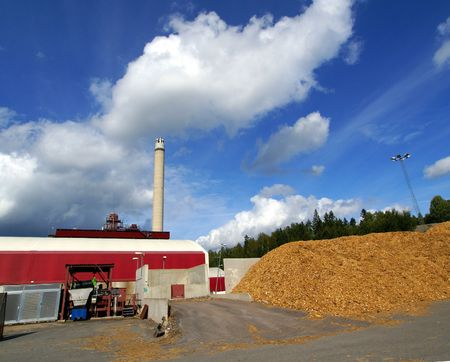 bio fuel power plant            photo