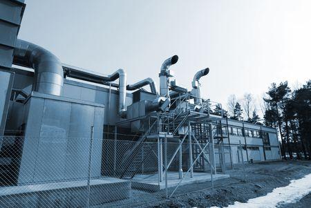 metal structure: industrial roof ventilation metal structure