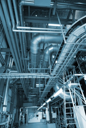 turbina de vapor: nuevos equipos en la planta de energ�a