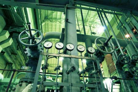 siderurgia: Zona industrial, tuber�as de acero, v�lvulas y escaleras