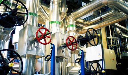 plant oil: Industrial zone, Steel pipelines and equipment