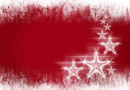 Bloody red pattern with dynamics stars Stock Photo - 5945950